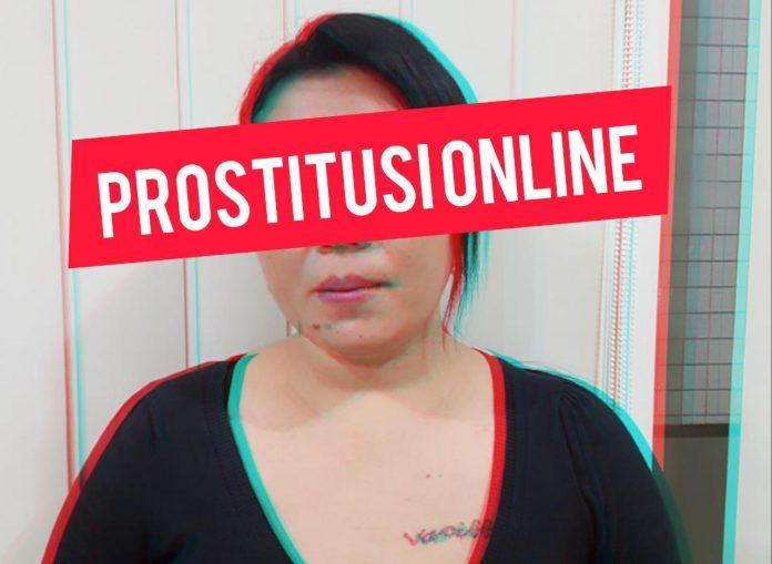Mucikari Prostitusi Online yang diringkus Polres Kediri.