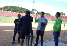 PT LIB tengah melakukan verifikasi Stadion Brawijaya Kediri