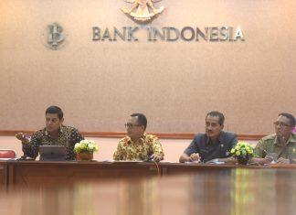 Rapat Koordinasi pengendalian inflasi di Bank Indonesia Kediri