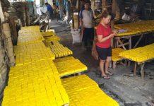 Tempat produksi Tahu Kuning khas Kediri