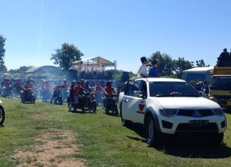 Usai deklarasi, ribuan warga persiapan pawai damai