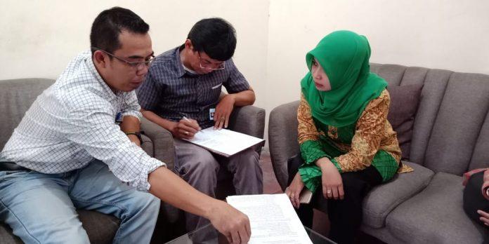 Warga laporkan dugaan pelanggaran pemilu 2019 ke Bawaslu Kabupaten Kediri