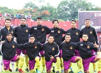 Squad Persik Kediri. Foto : @benny23romeo / manager Persik Kediri.
