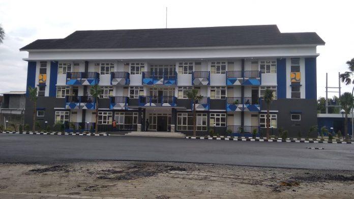 Rusunawa STKIP Tulungagung yang akan diresmikan Presiden Joko Widodo