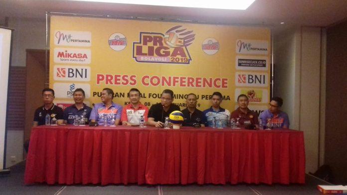 Rilis jelang Final Four Proliga 2019