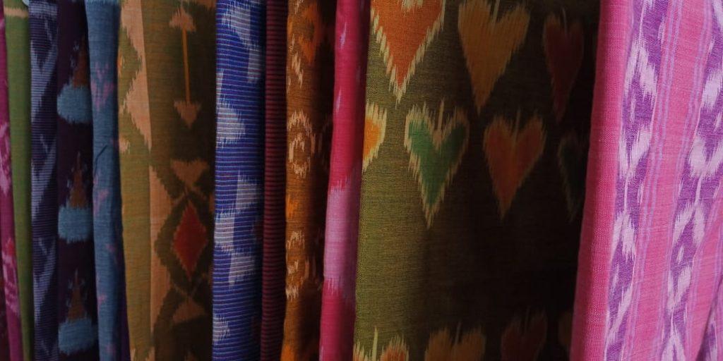 Beberapa motif kain tenun yang khas