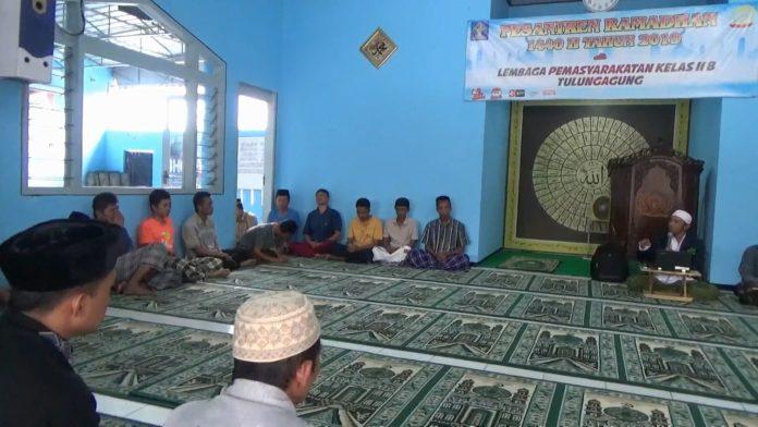 Lapas Tulungagung Bekali Napi Siraman Rohani Selama Ramadan