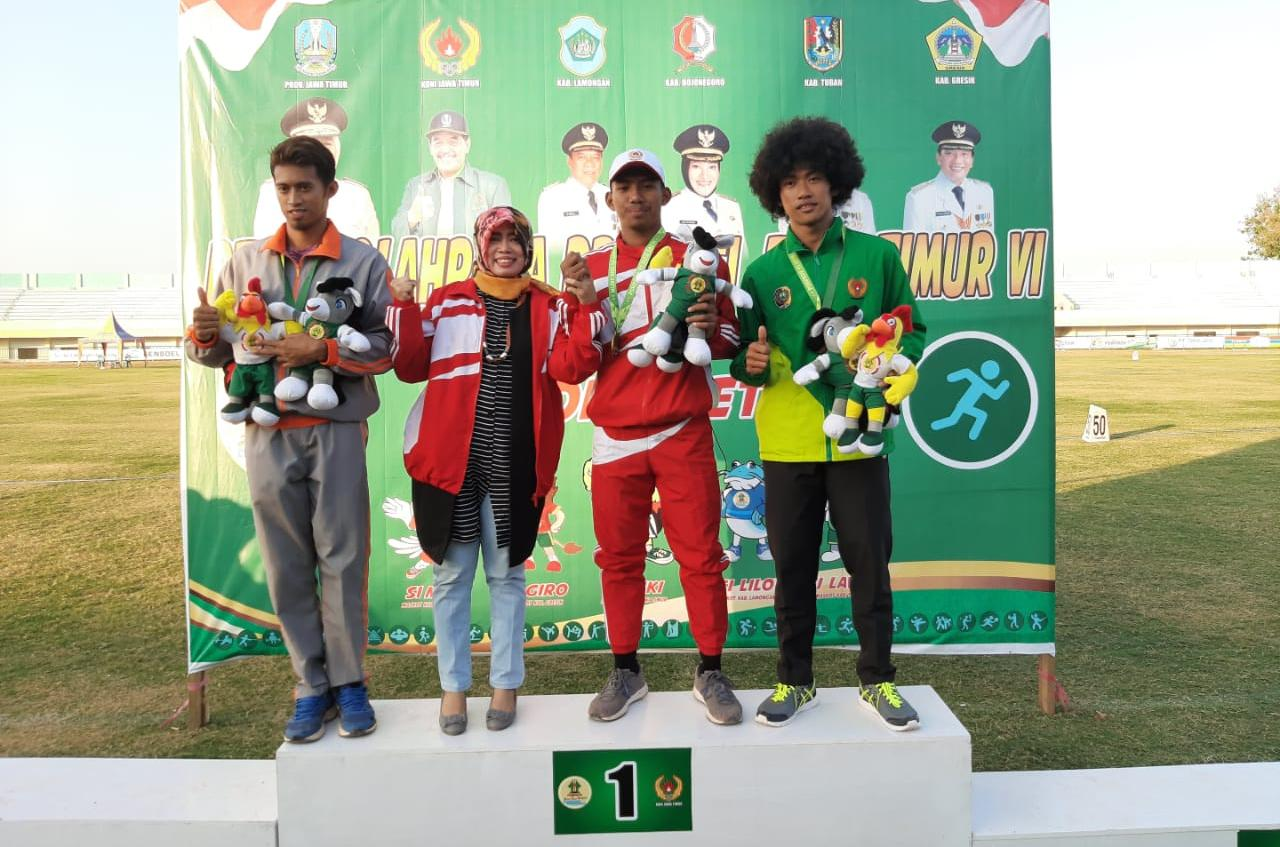 Atlet Kota Kediri naik podium