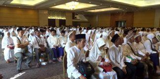 Jemaah Calon Haji asal Kabupaten Tulungagung saat hendak diberangkatkan